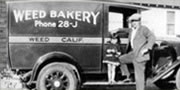 Weed Bakery truck